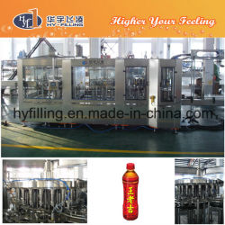 Hy-Filling Pet Bottle Herb Tea Hot Filling Machine