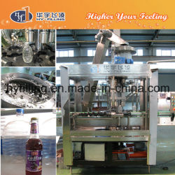 Glass Bottle Fruit Juice Filling Machine 3-in-1 Monoblock