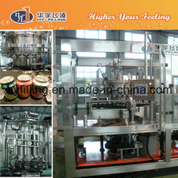 Tea Drinks Can Hot Filling Machine