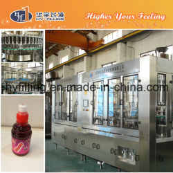 High Speed Sport Cap Pet Bottle Blueberry Juice Bottling Machine