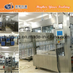 High Quality Pet Bottle Carbonated Flavored Water Filling Machine