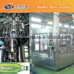 Glass Bottle Beer Filling Production Line