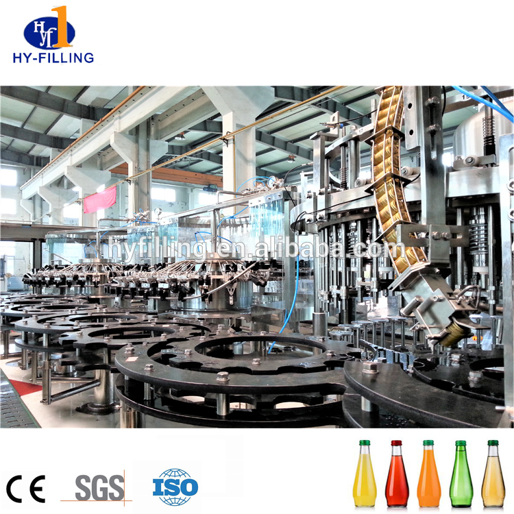 High Speed Filling Machine for Glass Bottle Juice in China
