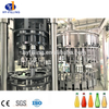 HY-Filling Fully Automatic 3 in 1 Glass Bottle Fresh Juice Bottling Machine on Sale