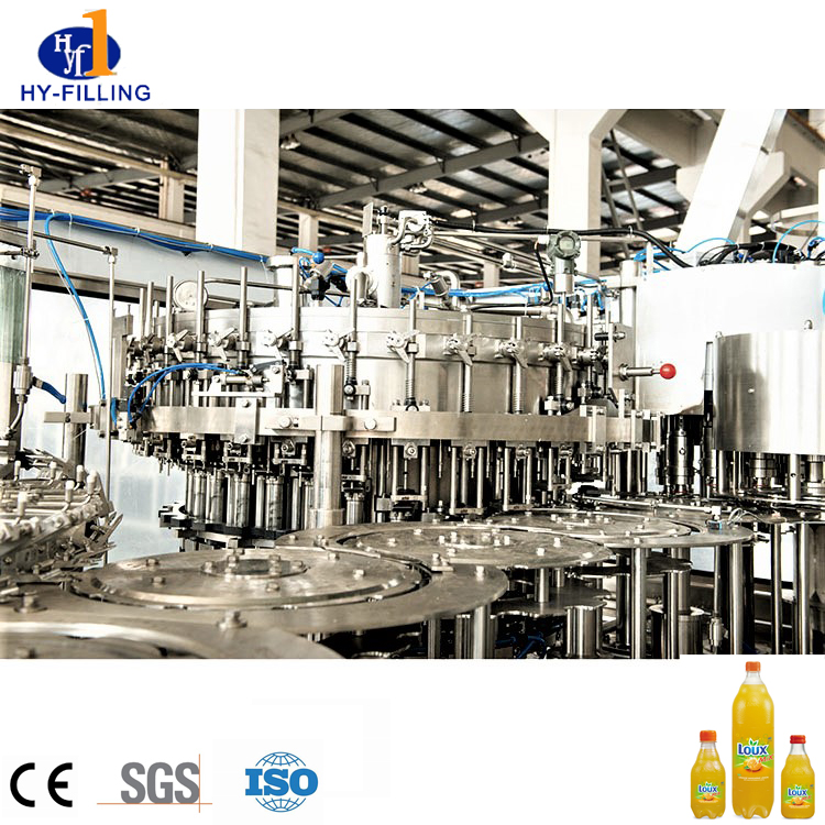 Hot Fill Lines Solution for Juice / Sports Drinks And Tea PET 200-2000ml Bottle