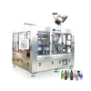 Full Automatic Glass Bottle CSD Filling Machine 3in1 Monoblock