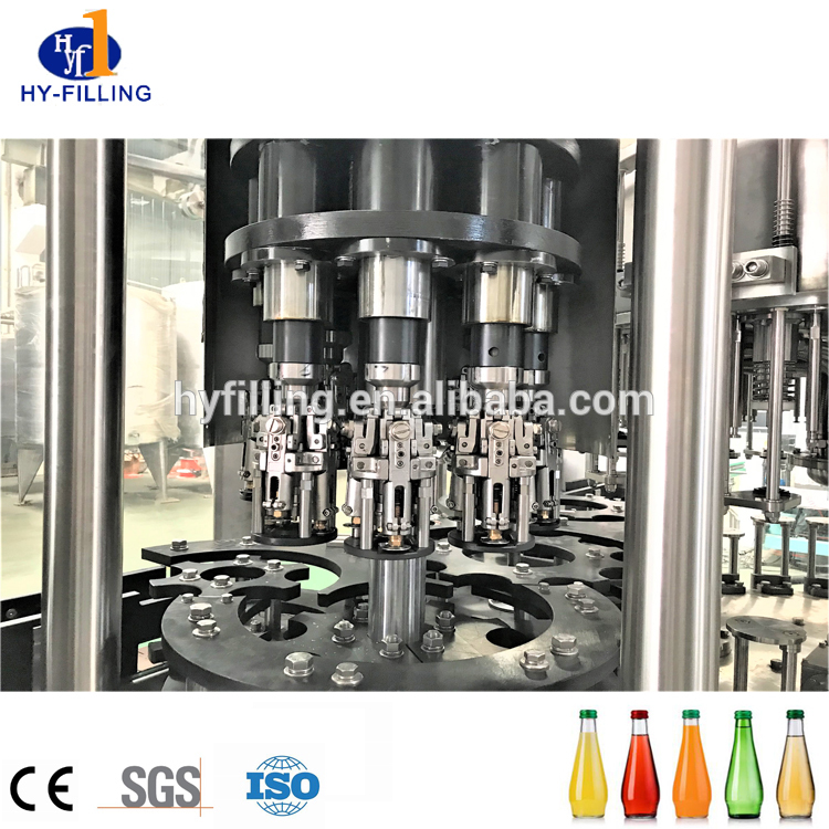 Dairy Drink/Glass Bottling Juice Hot Filling Machine/ Aluminium Foil Hot Sealing Roll Machine on Sale