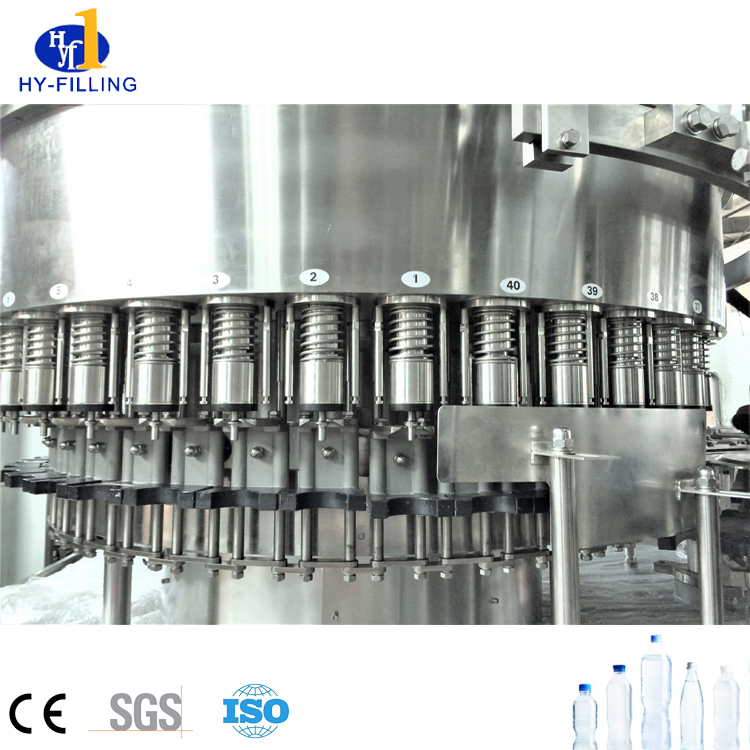 Factory Price Automatic PET Bottle Mineral Water Liquid Filling Packing Machine