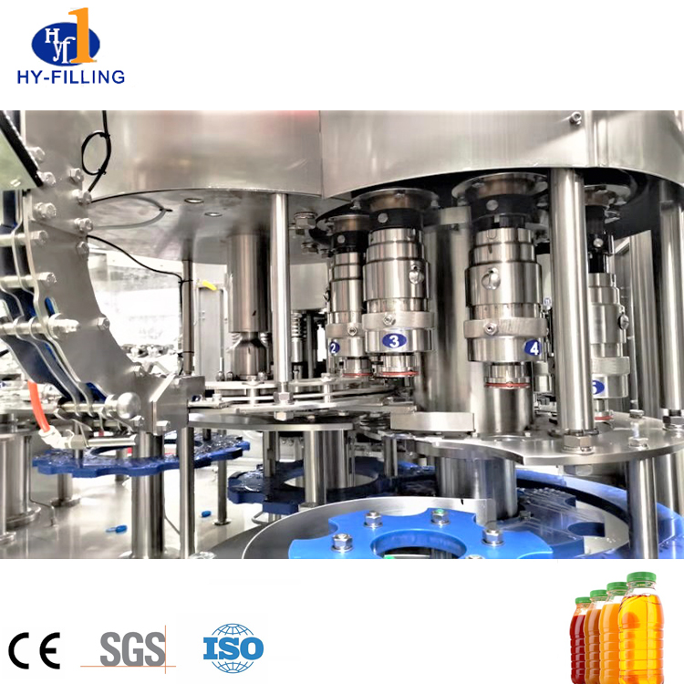 Automatic Bottle Washing Filling Capping System for Soft Water Juice